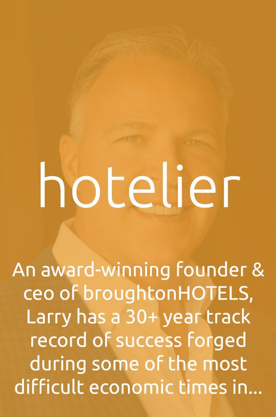 Larry Broughton - hotelier