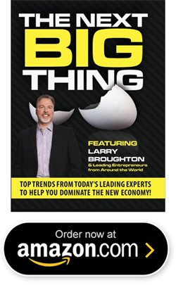 The Next Big Thing - featuring Larry Broughton
