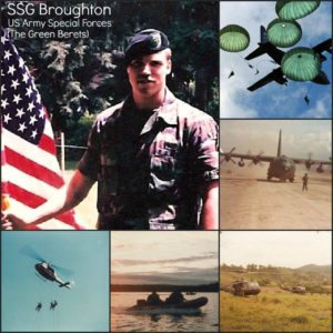US Army Special Forces - SSG Broughton