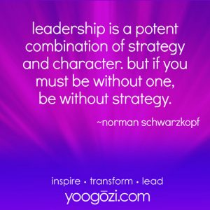 Leadership is a potent combination...