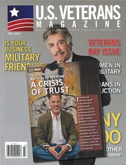 US VETERANS MAGAZINE - Fall 2013
