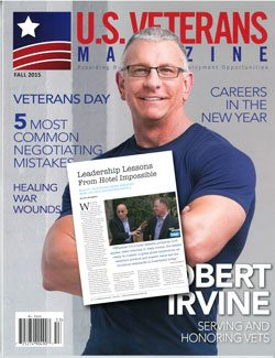 US VETERANS MAGAZINE - Fall 2015