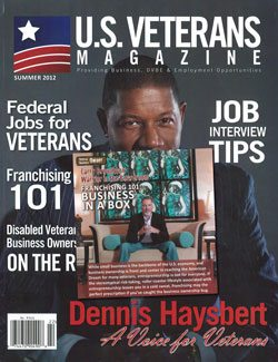 US VETERANS MAGAZINE - Summer 2012