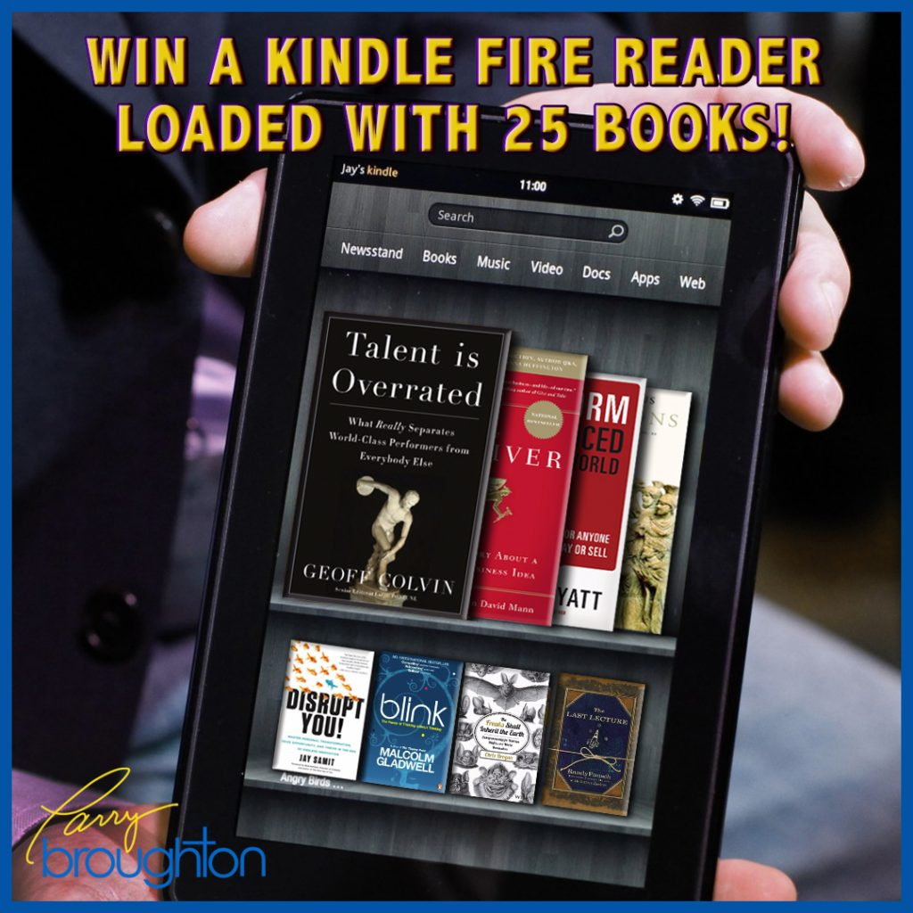 Win a Kindle Fire Reader Loaded with 25 Books!