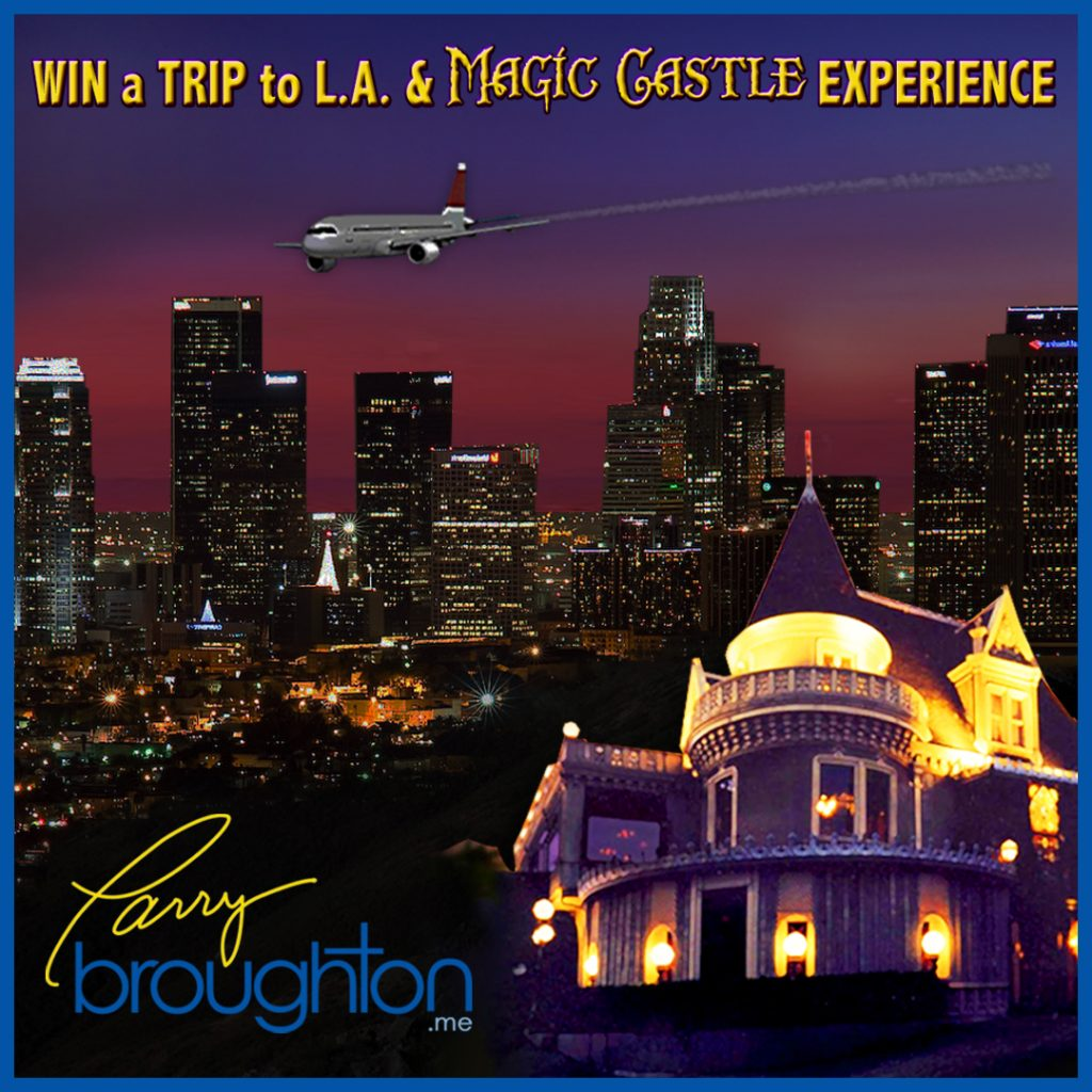 Win a Trip to LA and Magic Castle Experience!